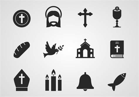 Free Catholic Icons Vector Download Free Vector Art