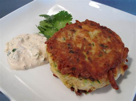 baltimore crab cakes  creamy chipotle chile sauce