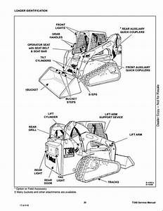 Bobcat T300 Compact Track Loader Service Repair Workshop Manual A5gu20001