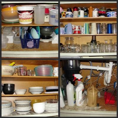Organize Kitchen Cabinets Hall Of Fame Before & After