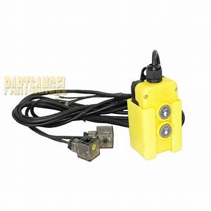 4 Wire Dump Trailer Remote Control Switch Fit Double