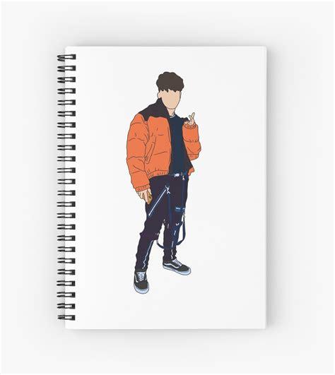 tiktok tony lopez spiral notebook  daisykate redbubble