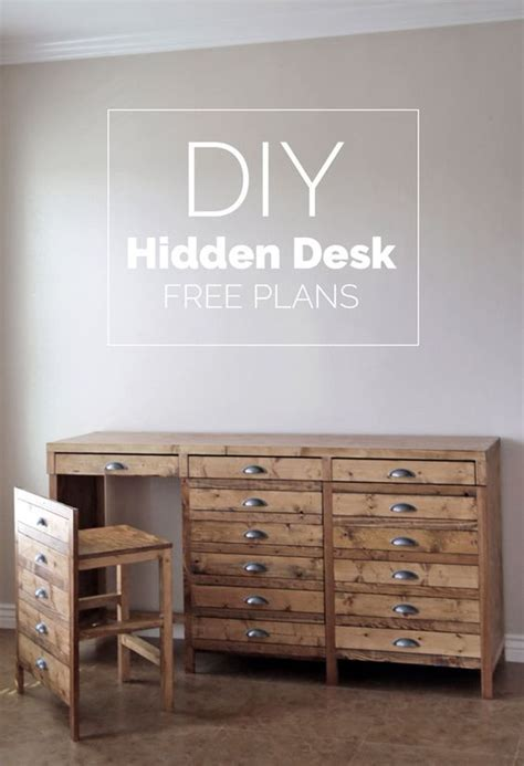desk with printer cabinet diy hidden desk it 39 s not a printers cabinet it 39 s a
