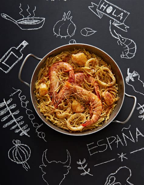 site de recette cuisine pâtes fideuàs espagnoles pour 6 personnes recettes