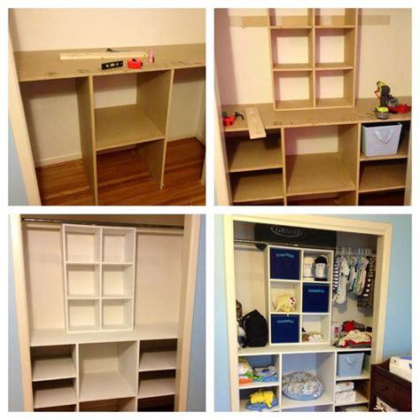 diy baby closet organizer diy closetorganizer