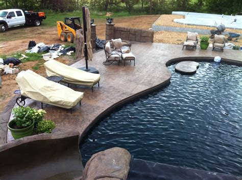 concrete coatings for swimming pool deck images