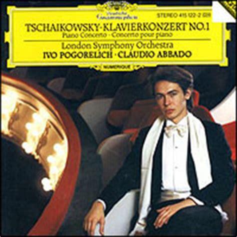 si鑒e pour piano concerto pour piano et orchestre no 1 en si bémol mineur op 23 titre base de données musicale radio swiss