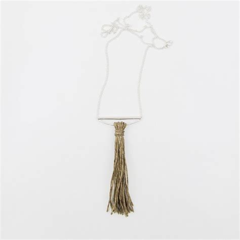 Rand Papele Aino Tassel Necklace   Jewelry fashion trends ...