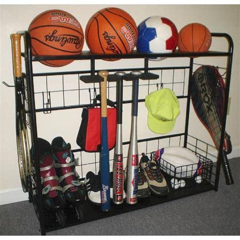 garage sports storage sports equipment organizer in sports equipment organizers