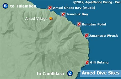 amed dive sites bali wreck diving critter diving reefs