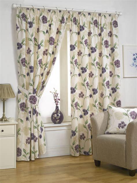 rideaux a fleurs style anglais rideaux enti 232 rment doubl 233 s 192 fleurs design accessoires disponibles ebay