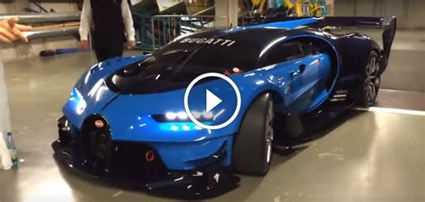 Bugatti Vision Gt For Sale by Real Bugatti Vision Gt Engine Sounds Monstrous
