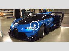 RealLife Bugatti Vision GT Engine Sounds Monstrous