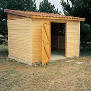Abri de jardin démontable à ossature bois Abri de jardin Les Abris Martin