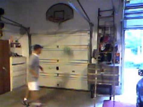 indoor basketball hoop   garage youtube
