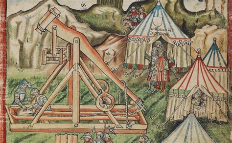 siege eram a day for a trebuchet medievalists