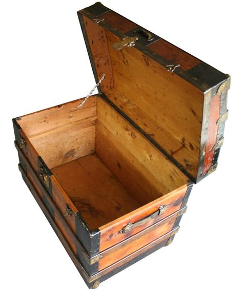 wooden steamer trunk plans woodworking projects plans