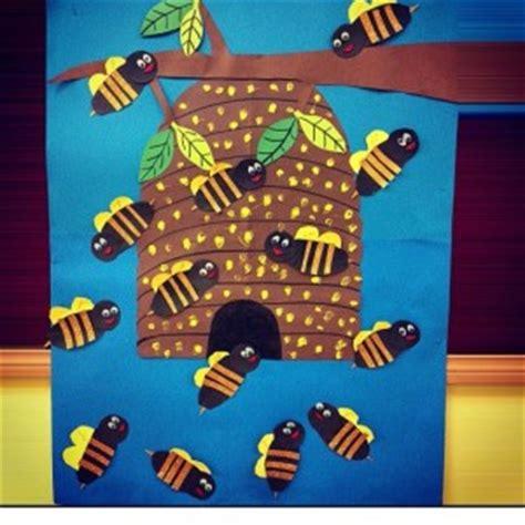 bee craft idea  kids crafts  worksheets