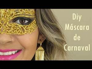 Diy Máscara de carnaval - YouTube