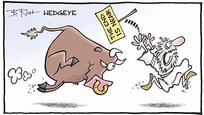 Cartoon Apocalypse Charging Bull