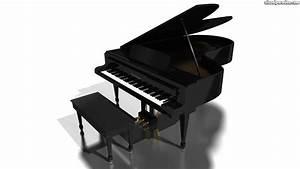 Visual Paradox Free 3D Wallpaper 'Grand Piano' 1366x768 ...