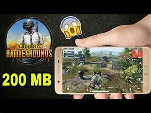 PUBG HIGHLY COMPRESSED [200MB] ANDROID DOWNLOAD ENGLISH ...