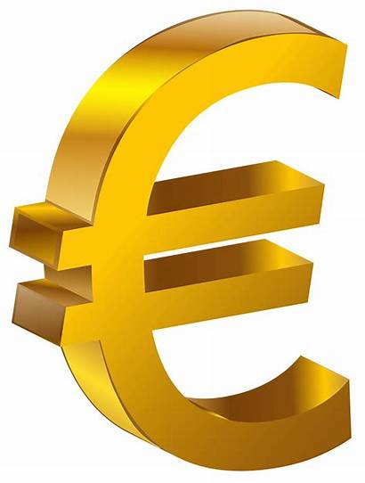 Euro Transparent Clipart Gold Sign Money Edrs