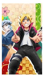 Team 7 + Papas (New Official Art from NxB game) : Naruto