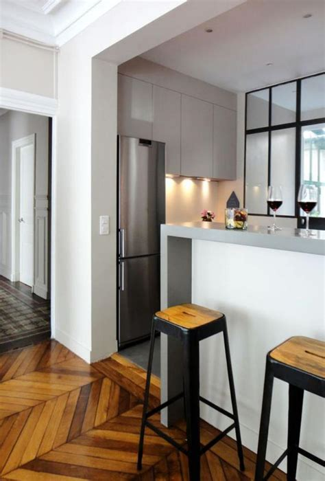cuisine ouverte sur salon avec bar découvrez nos 84 jolies propositions pour cuisine avec bar