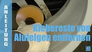 Klebereste Von Kunststoff Entfernen : klebereste von auswuchtgewichten von alufelgen entfernen youtube ~ Watch28wear.com Haus und Dekorationen