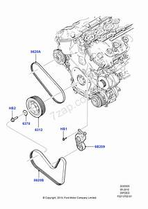 2007 Ford Edge Serpentine Belt Diagram