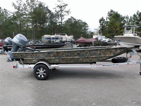 Ranger Aluminum Tiller Boats by 2015 Ranger 1652 16 Foot 2015 Ranger Motor Boat In