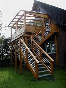 balkon With garten planen mit außentreppe mit balkon