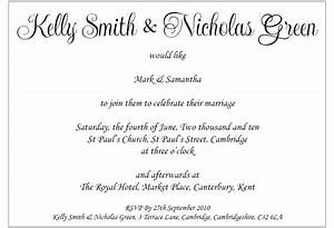 examples of wedding invitations from bride and groom With wedding invitations messages by bride groom