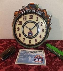 Lionel train clock Lookup BeforeBuying