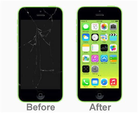 replace iphone 5c screen apple iphone 5c broken screen repair service lcd glass