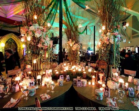 enchanted forest quinceanera theme fairy tale garden