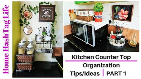 indian kitchen organization countertop organization