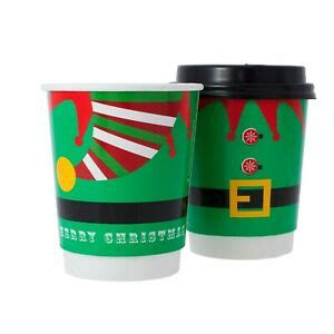 Lechner creates the coffee cups by first collecting the leftovers from local cafes in berlin. 8oz Disposable Elf Christmas Coffee Cups + FREE LIDS ...