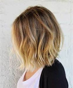 Balayage Blond Californien Cheveux Court