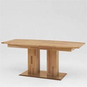 Holztisch Massiv Esszimmer : esstisch mit s ulengestell ausziehbar holztisch massivholztisch k chentisch esszimmertisch ~ Indierocktalk.com Haus und Dekorationen