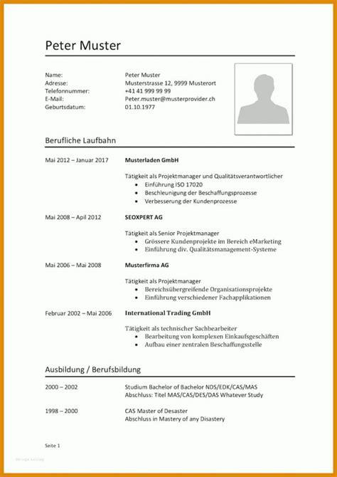 Lebenslauf Vorlage Schüler by Lebenslauf Sch 252 Ler Vorlage Word 11 Ideen F 252 R 2019