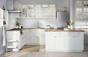 Modeles Cuisine Ikea : cuisine blanche ou gris clair forum mode ~ Dallasstarsshop.com Idées de Décoration