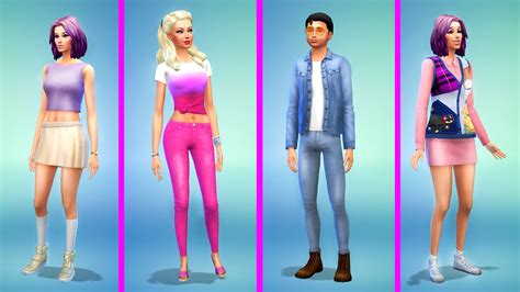 sims  barbie family makeover youtube