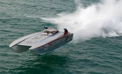 Offshore Racing Boats Speed by 187 Qatar Team Launching Offshore Caign This Month In