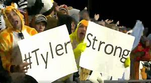 WATCH: Tyler Trent leads Purdue in 'Shout' chant entering ...