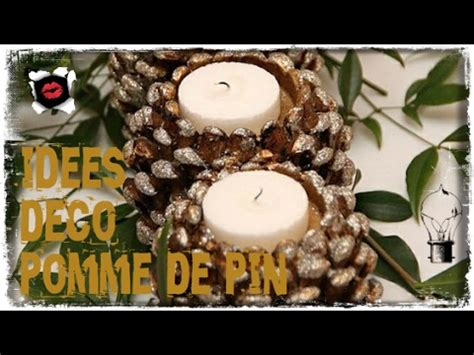 d 233 corations en pommes de pin diy