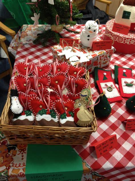 christmas fayre stall make bake sew
