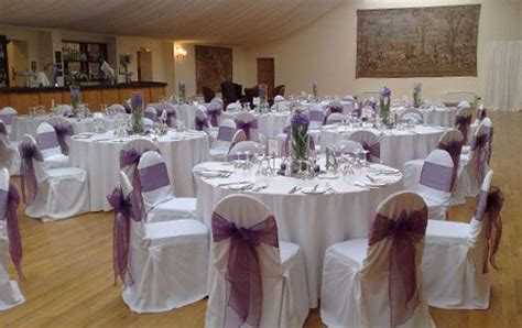 Lilac Decorations Wedding Tables - lilac wedding decoration on purple table