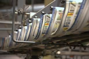 Printer Printing Newspapers